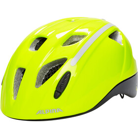 Alpina Ximo Flash Casco Niños, be visible reflective